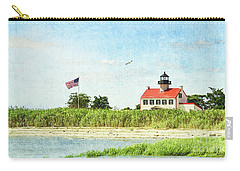 Summer At East Point Lighthouse Carry-all Pouch