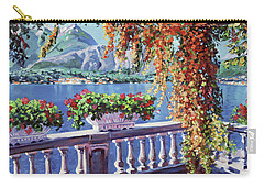 Summer At Lake Como Carry-all Pouch