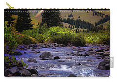 Summer At The Animas River Carry-all Pouch