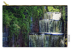 Carry-all Pouch featuring the photograph Summer At The Five Combines by Kendall McKernon