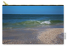 Carry-all Pouch featuring the photograph Summer At The Shore by Michiale Schneider