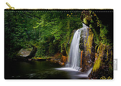 Summer At Wolf Creek Falls Carry-all Pouch