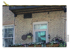 Summer Balconies In Chicago Illinois Carry-all Pouch