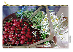 Summer Basket Carry-all Pouch by Vicky Tarcau
