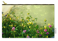 Summer Begins Carry-all Pouch by Betty-Anne McDonald