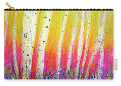 Summer Birch  Carry-all Pouch by Linde Townsend