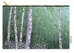 Summer Birch Trees Carry-all Pouch