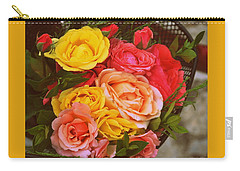 Summer Bouquet Carry-all Pouch by Marija Djedovic