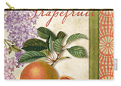 Summer Citrus Grapefruit Carry-all Pouch by Mindy Sommers