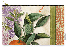 Summer Citrus Orange Carry-all Pouch by Mindy Sommers