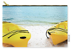 Carry-all Pouch featuring the photograph Summer Colors On The Beach by Shelby Young