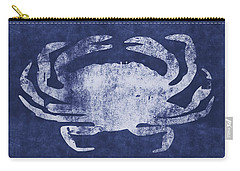 Summer Crab- Art By Linda Woods Carry-all Pouch