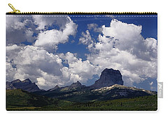 Summer Day At Chief Mountain Carry-all Pouch