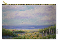 Summer Day At The Beach Carry-all Pouch