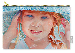 Carry-all Pouch featuring the painting Summer Day by John Neeve