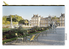 Summer Day Out At The Luxembourg Garden Carry-all Pouch
