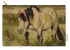 Carry-all Pouch featuring the painting Summer Days by Billie Colson