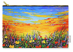 Carry-all Pouch featuring the painting Summer Dream by Teresa Wegrzyn
