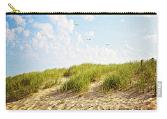 Carry-all Pouch featuring the photograph Summer Dunes by Melanie Alexandra Price