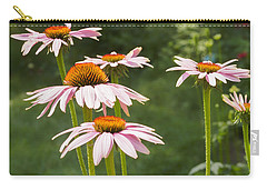 Summer Echinacea I Carry-all Pouch by Marianne Campolongo