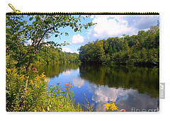 Carry-all Pouch featuring the photograph Summer by Elfriede Fulda