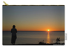 Carry-all Pouch featuring the photograph Summer Evening By The Coast by Kennerth and Birgitta Kullman