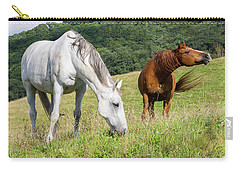 Summer Evening For Horses Carry-all Pouch