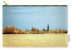 Summer Field Carry-all Pouch by Helga Novelli