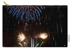 Summer Fireworks I Carry-all Pouch by Helen Northcott