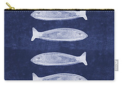 Summer Fish- Art By Linda Woods Carry-all Pouch