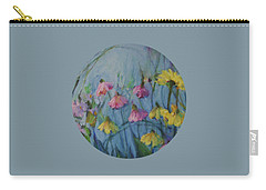 Summer Flower Garden Carry-all Pouch