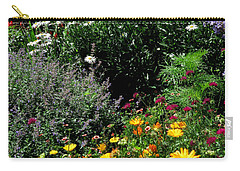 Summer Flowers 2 Carry-all Pouch by John Topman