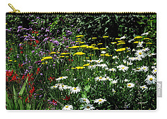 Summer Flowers  Carry-all Pouch by John Topman