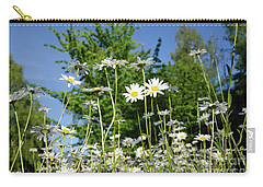 Carry-all Pouch featuring the photograph Summer Flowers by Kennerth and Birgitta Kullman