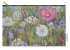 Summer Flowers Carry-all Pouch by Nancy Jolley