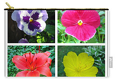 Summer Flowers Window Carry-all Pouch by Maciek Froncisz