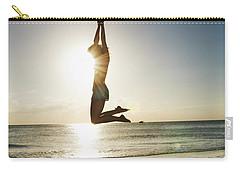 Summer Girl Summer Jump  Carry-all Pouch