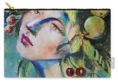 Summer Girl Carry-all Pouch by Vali Irina Ciobanu
