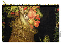 Summer Carry-all Pouch by Giuseppe Arcimboldo