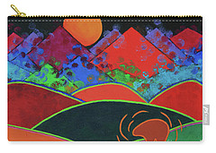 Summer Guardian Bear Carry-all Pouch by Jeanette French