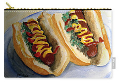 Summer Hot Dogs Carry-all Pouch