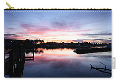 Carry-all Pouch featuring the photograph Summer House by Laura Fasulo