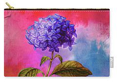 Summer Hydrangea Carry-all Pouch