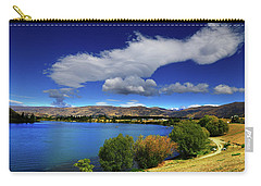 Carry-all Pouch featuring the photograph Summer In Central by Nareeta Martin