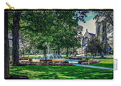 Carry-all Pouch featuring the photograph Summer In Juckett Park by Kendall McKernon