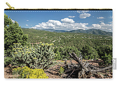 Carry-all Pouch featuring the photograph Summer In Santa Fe by Margaret Pitcher