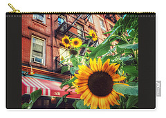 Summer In The City - Sunflowers Carry-all Pouch