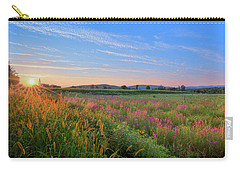 Carry-all Pouch featuring the photograph Summer In The Hills 2017 by Bill Wakeley