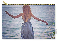 Summer In The Light And Winter In The Shade Carry-all Pouch by Agnieszka Mlicka