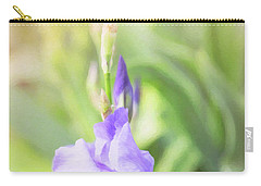 Carry-all Pouch featuring the photograph Summer Iris by Sue Collura